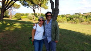 Me & Simone Marucci at La Selva